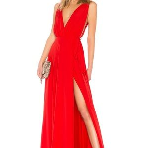 NWT Lovers + Friends Leah Gown